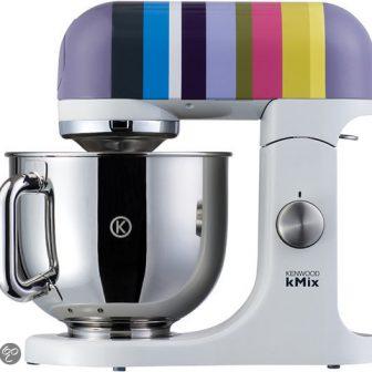 keukenmachine Kenwood Kmix KMX80 paars gestreept