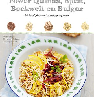 boek power quinoa, spelt, boekweit en bulgur